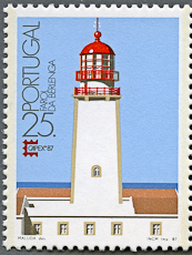 Berlinga Lighthouse, Scott 1704, 12 Jun 1987