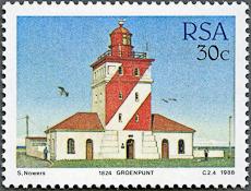 Green Point Lighthouse, Scott 715, 9 Jun 1988