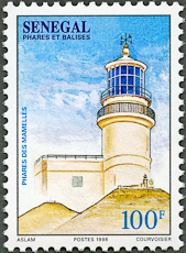Cap Vert Lighthouse, Scott 1323, 3 Jul 1998