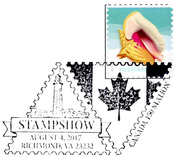 USA 2017 American Philatelic Society Stamp Show At Richmond Virginia
