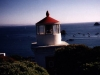 Trinidad Memorial Light, California - a replica of the original Trinidad Light